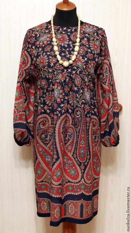 """Платья ручной работы. Ярмарка Мастеров - ручная работа. Купить Платье """"15"""". Handmade. Тёмно-синий, платье, шерсть, шерсть"""