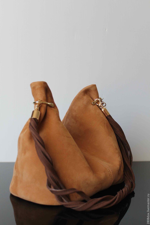 Handbags Handmade Granville Honey Mustard Suede Bag Olga Sluxurycreation Online