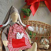 Куклы и игрушки ручной работы. Ярмарка Мастеров - ручная работа Сонный Ангел Тильда, Сплюшка, Скандинавский Новый год. Handmade.