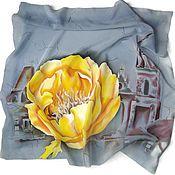 Аксессуары handmade. Livemaster - original item Batik Scarf Vintage. Handmade.