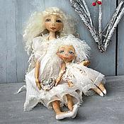 Куклы и игрушки ручной работы. Ярмарка Мастеров - ручная работа Пусть хранят вас ангелы...... Handmade.