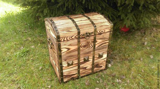 Мебель ручной работы. Ярмарка Мастеров - ручная работа. Купить Сундук деревянный. Handmade. Сундук под старину, сундук для хранения