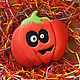"""Подарки на Хэллоуин ручной работы. Пряник """"Тыква на хеллоуин"""". A&E Красивые сладости.. Ярмарка Мастеров. Тыква фонарь"""