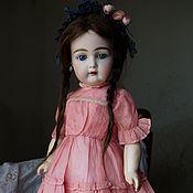 Платье для куклы Винтажный лосось