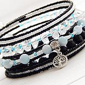 Украшения handmade. Livemaster - original item Bracelet Blue lagoon. Handmade.