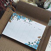 Канцелярские товары handmade. Livemaster - original item Glider table. Glider diary. Beautiful glider. Glider gift.. Handmade.