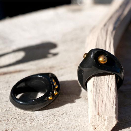 """Кольца ручной работы. Ярмарка Мастеров - ручная работа. Купить кольцо """"Парад планет"""" фарфор. Handmade. Дизайнерское кольцо, Керамика"""