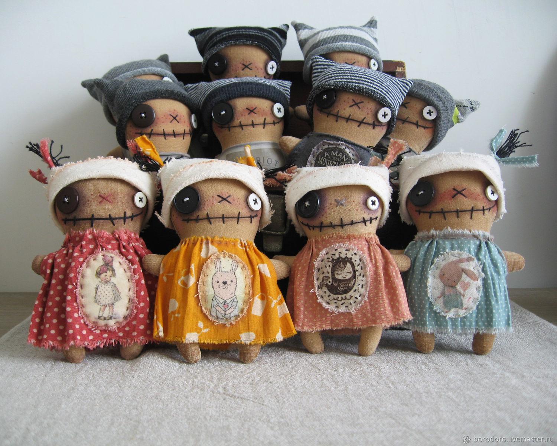 "Карманные куклы Kindergarten ""Good Monsters"", Чердачная кукла, Москва,  Фото №1"