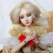 """Шарнирная кукла ручной работы. Ярмарка Мастеров - ручная работа Авторская шарнирная кукла """"Розалия"""". Handmade."""