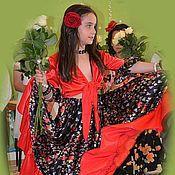 Костюмы ручной работы. Ярмарка Мастеров - ручная работа Цыганская юбка. Handmade.