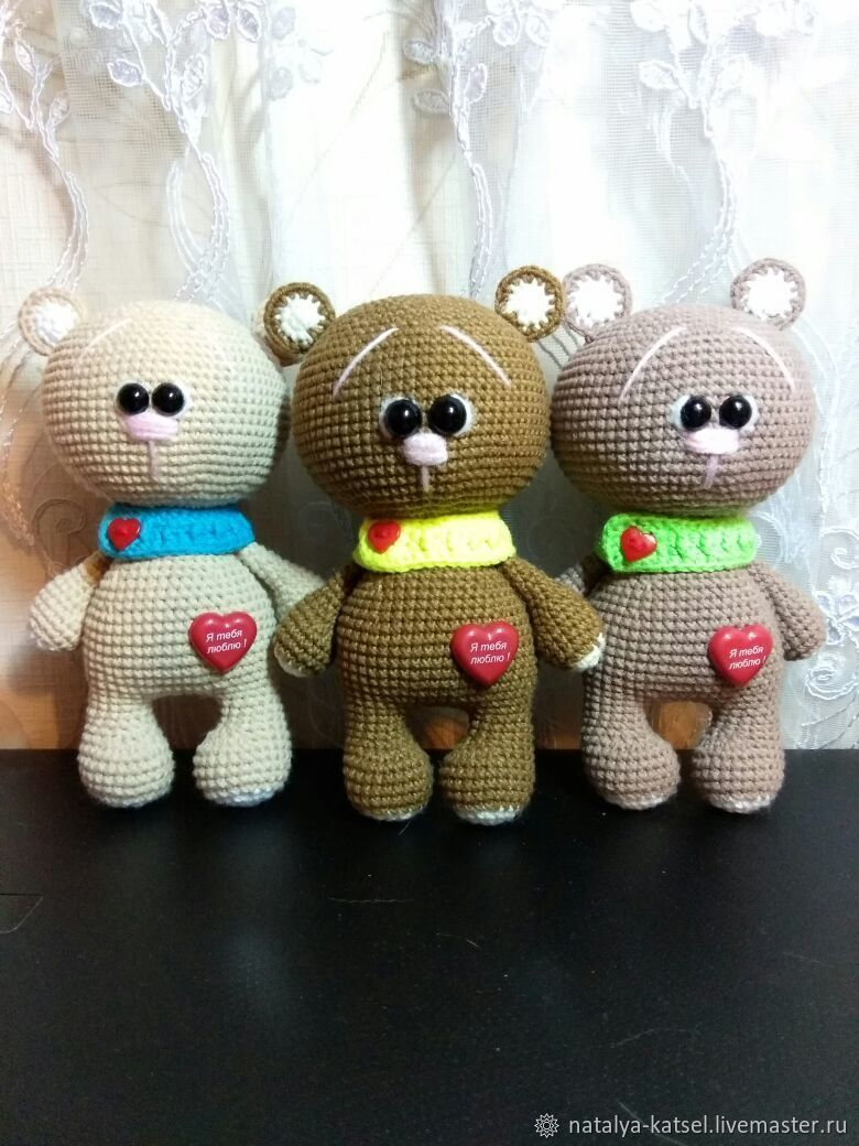Мишка валентинка, Мягкие игрушки, Санкт-Петербург,  Фото №1