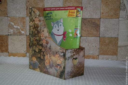 """Журнальницы ручной работы. Ярмарка Мастеров - ручная работа. Купить Журнальница """"Foxwood tales"""". Handmade. Foxwood tales, подставка для журналов"""