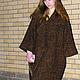 """Верхняя одежда ручной работы. Ярмарка Мастеров - ручная работа. Купить Пальто кокон """"В стиле Бохо"""". Handmade. Разноцветный"""