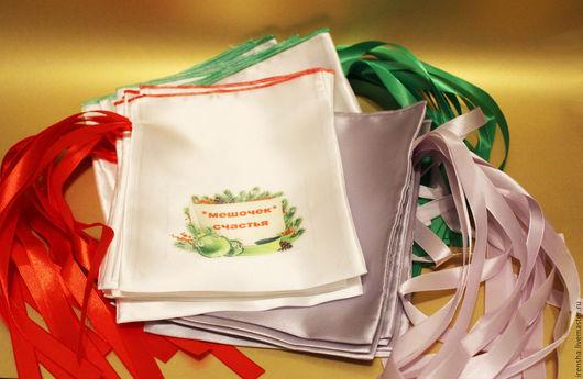 Подарочная упаковка ручной работы. Ярмарка Мастеров - ручная работа. Купить Подарочные мешочки. Handmade. Золотой, белый, подарочные наборы
