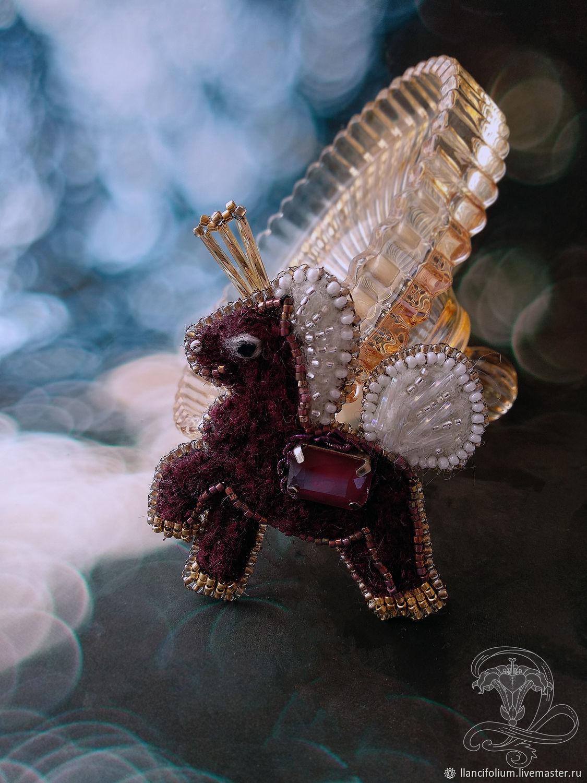 Брошь Цирковая лошадка подарок для девочки, Брошь-булавка, Красноярск,  Фото №1