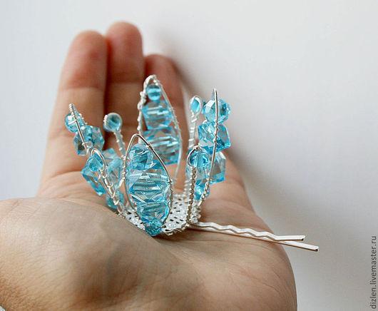 корона ручной работы заколка для волос для детей для девочки для девочек для принцессы для выпускного оригинальный купить wirewrap медный