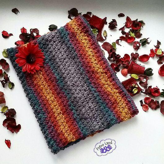 Шарфы и шарфики ручной работы. Ярмарка Мастеров - ручная работа. Купить Вязаный шарф-снуд (шарф-труба) no.1. Handmade.
