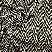 Материалы для творчества ручной работы. Ярмарка Мастеров - ручная работа Жаккардовый трикотаж-джерси,цвет черно-молочный  900руб-м. Handmade.