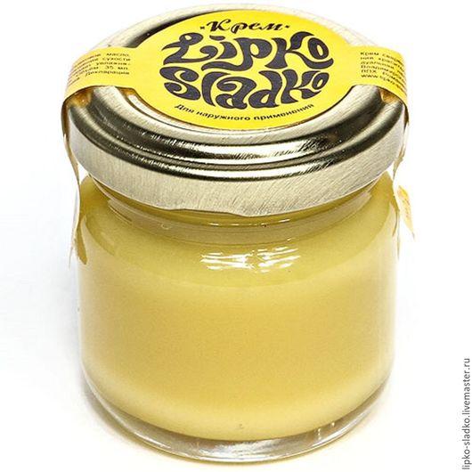 Крем, гель, сыворотка ручной работы. Ярмарка Мастеров - ручная работа. Купить Крем для рук оливковый. Handmade. Оранжевый, воск
