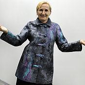 Одежда ручной работы. Ярмарка Мастеров - ручная работа Пальто демисезонное, валяное.. Handmade.