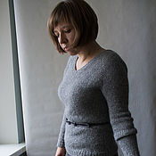 Одежда ручной работы. Ярмарка Мастеров - ручная работа Пуловер из королевской альпаки. Handmade.