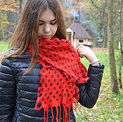 Аксессуары ручной работы. Ярмарка Мастеров - ручная работа Берет и шарф. Handmade.