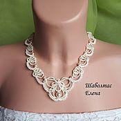 Украшения handmade. Livemaster - original item Wedding necklace
