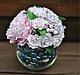 """Цветы ручной работы. Ярмарка Мастеров - ручная работа. Купить Букет """" Пион с розами"""". Handmade. Букет, цветы на свадьбу"""