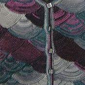 """Одежда ручной работы. Ярмарка Мастеров - ручная работа Жилет вязанный """"Цветная фантазия -2"""". Handmade."""