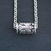 Украшения handmade. Livemaster - original item Bird bead 925 silver. Handmade.