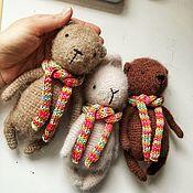 Мягкие игрушки ручной работы. Ярмарка Мастеров - ручная работа Вязаные игрушки. Handmade.
