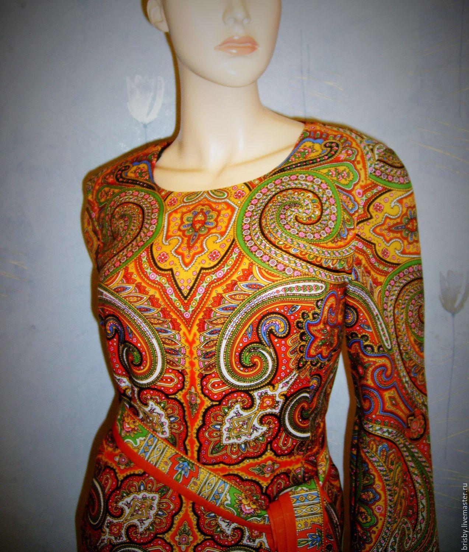 Dress pavlogoradsky handkerchiefs 'Classic' ( option 3), Dresses, Moscow,  Фото №1
