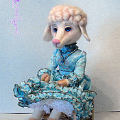 Куклы и игрушки ручной работы. Ярмарка Мастеров - ручная работа Овечка Долорес. Handmade.
