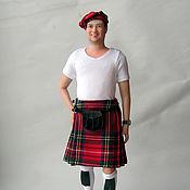 Портретная кукла шотландец