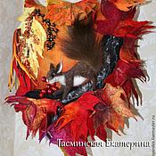 """Сумки и аксессуары ручной работы. Ярмарка Мастеров - ручная работа Сумочка """" в плену осенних ярких красок.."""". Handmade."""