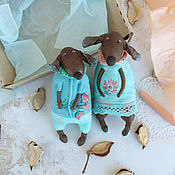 Куклы и игрушки handmade. Livemaster - original item Two dachshunds. Textile toys. A gift for dog lovers.. Handmade.