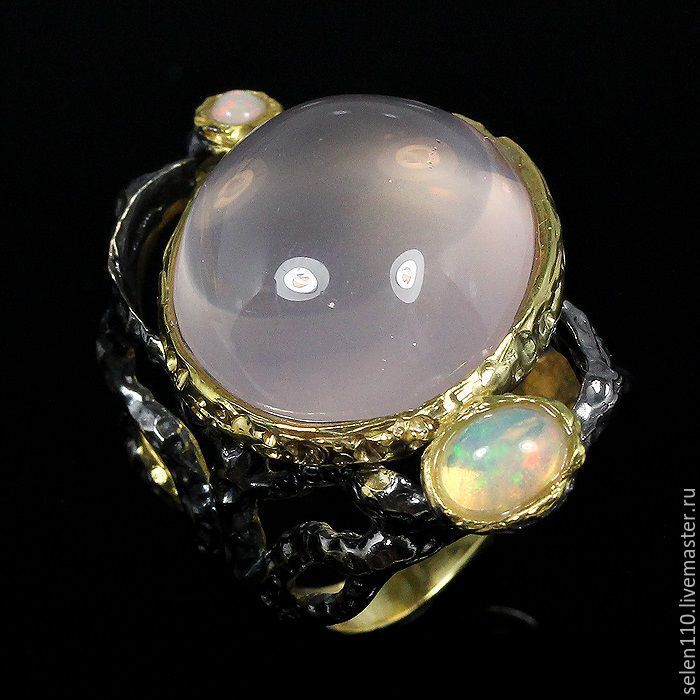 R-R-Ring 17,5 'Pink planet', Rings, Voronezh,  Фото №1