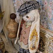 """Куклы и игрушки ручной работы. Ярмарка Мастеров - ручная работа Плюшевый заяц """"Есенин"""". Handmade."""
