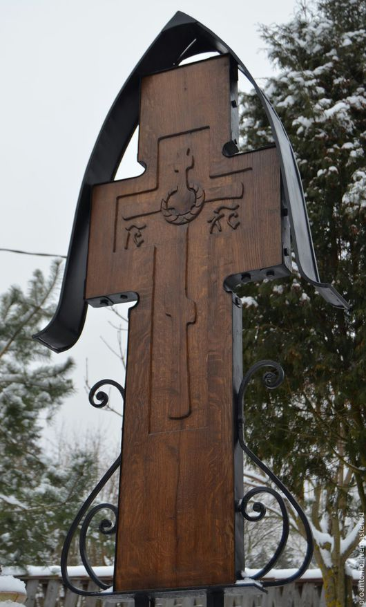 Быт ручной работы. Ярмарка Мастеров - ручная работа. Купить Крест могильный. Handmade. Крест, на кладбище, металл