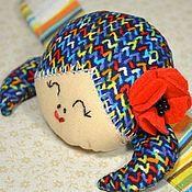 """Куклы и игрушки ручной работы. Ярмарка Мастеров - ручная работа Игольница-браслет """"Куколка испанка"""". Handmade."""