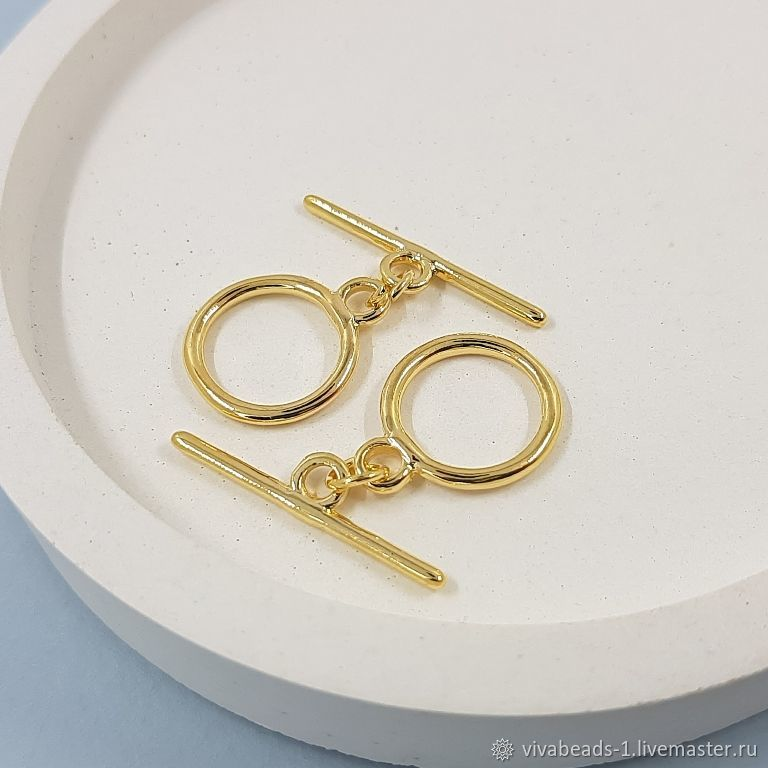 Toggl lock ring 14,5, 5402 mm gilding (-Z), Accessories4, Voronezh,  Фото №1