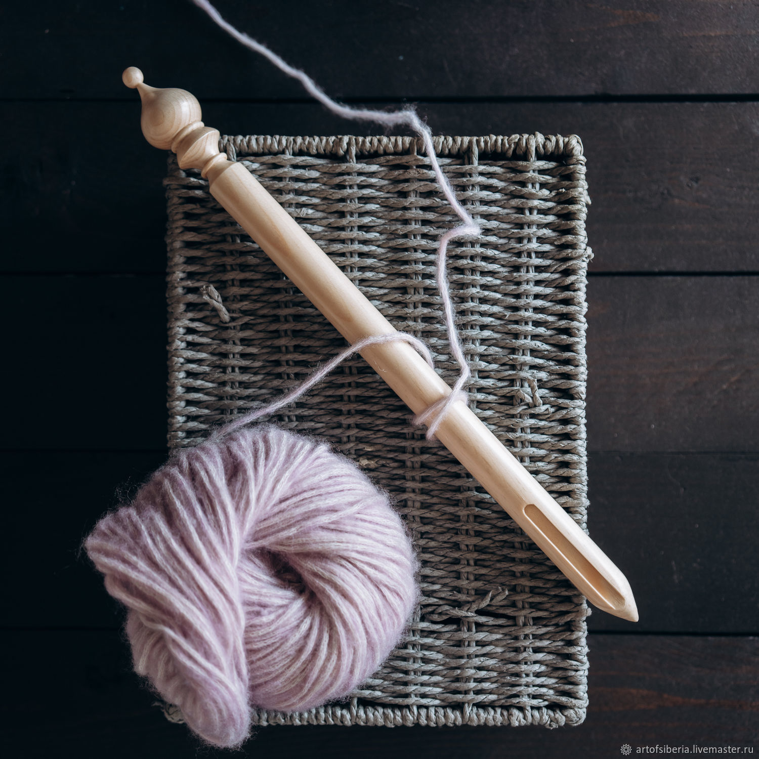 Brumstick (stick) for Peruvian knitting with a diameter of 20 mm. Br1, Knitting tools, Novokuznetsk,  Фото №1