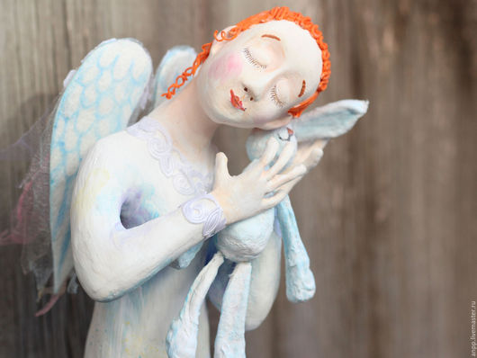 Куклы и игрушки ручной работы. Ярмарка Мастеров - ручная работа. Купить Кукла коллекционная Ангел покровитель рукодельниц. Handmade. Рыжий