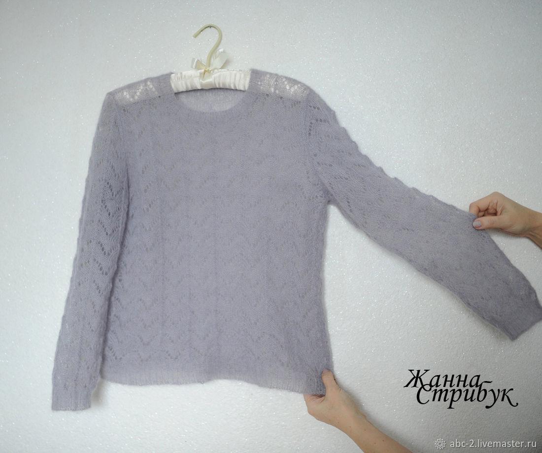 пуловер женский из кид-мохера, Пуловеры, Пловдив, Фото №1