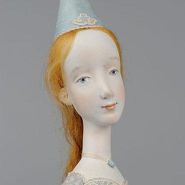 """Куклы и игрушки ручной работы. Ярмарка Мастеров - ручная работа Авторская кукла """"Голубая феечка"""". Handmade."""
