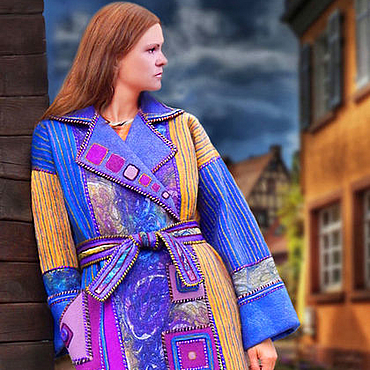 """Одежда ручной работы. Ярмарка Мастеров - ручная работа Пальто """"Дежа вю Ультра"""". Handmade."""