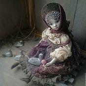 """Куклы и игрушки ручной работы. Ярмарка Мастеров - ручная работа """"Где ж вы, гуси мои, гуси-лебеди?.."""" кукла подвижная в смешанной техн.. Handmade."""