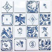 handmade. Livemaster - original item Painting tiles Russian tiles. Handmade.