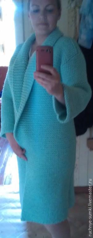 Кофты и свитера ручной работы. Ярмарка Мастеров - ручная работа. Купить кардиган мятная свежесть. Handmade. Мятный, кардиган вязаный