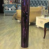 Vases handmade. Livemaster - original item Floor vase, purple. Handmade.